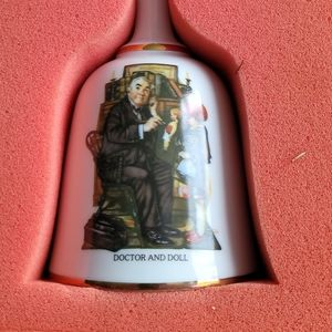 Norman Rockwell limited edition doctor and doll Be